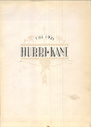 Page 7, 1931 Edition, Kane Area High School - HurriKane Yearbook (Kane, PA) online yearbook collection