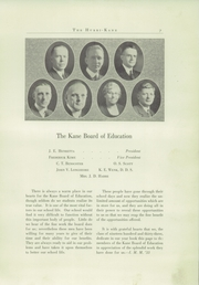 Page 11, 1933 Edition, Kane Area High School - HurriKane Yearbook (Kane, PA) online yearbook collection
