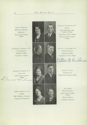 Page 16, 1933 Edition, Kane Area High School - HurriKane Yearbook (Kane, PA) online yearbook collection