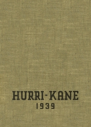 Page 1, 1939 Edition, Kane Area High School - Hurri Kane Yearbook (Kane, PA) online yearbook collection
