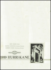 Page 5, 1939 Edition, Kane Area High School - Hurri Kane Yearbook (Kane, PA) online yearbook collection