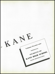 Page 9, 1940 Edition, Kane Area High School - HurriKane Yearbook (Kane, PA) online yearbook collection
