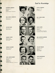Page 17, 1952 Edition, Kane Area High School - HurriKane Yearbook (Kane, PA) online yearbook collection