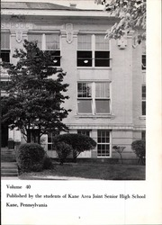 Page 7, 1960 Edition, Kane Area High School - HurriKane Yearbook (Kane, PA) online yearbook collection
