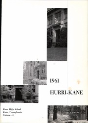 Page 5, 1961 Edition, Kane Area High School - Hurri Kane Yearbook (Kane, PA) online yearbook collection