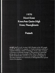 Page 5, 1975 Edition, Kane Area High School - HurriKane Yearbook (Kane, PA) online yearbook collection