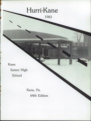 Page 5, 1983 Edition, Kane Area High School - HurriKane Yearbook (Kane, PA) online yearbook collection