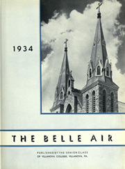 Page 9, 1934 Edition, Villanova University - Belle Air Yearbook (Villanova, PA) online yearbook collection