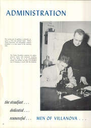 Page 14, 1955 Edition, Villanova University - Belle Air Yearbook (Villanova, PA) online yearbook collection