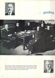 Page 16, 1955 Edition, Villanova University - Belle Air Yearbook (Villanova, PA) online yearbook collection