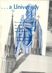 Page 6, 1955 Edition, Villanova University - Belle Air Yearbook (Villanova, PA) online yearbook collection