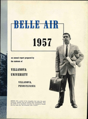 Page 9, 1957 Edition, Villanova University - Belle Air Yearbook (Villanova, PA) online yearbook collection