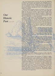 Page 12, 1960 Edition, Villanova University - Belle Air Yearbook (Villanova, PA) online yearbook collection