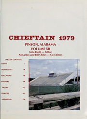 Page 5, 1979 Edition, Pinson Valley High School - Chieftain Yearbook (Pinson, AL) online yearbook collection