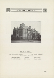 Page 12, 1920 Edition, Fort Dodge High School - Dodger Yearbook (Fort Dodge, IA) online yearbook collection