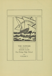 Page 5, 1921 Edition, Fort Dodge High School - Dodger Yearbook (Fort Dodge, IA) online yearbook collection