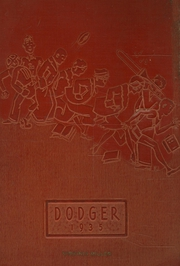 Fort Dodge High School - Dodger Yearbook (Fort Dodge, IA) online yearbook collection, 1935 Edition, Page 1