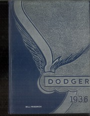 Fort Dodge High School - Dodger Yearbook (Fort Dodge, IA) online yearbook collection, 1936 Edition, Page 1