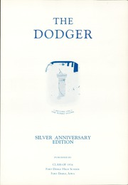 Page 5, 1936 Edition, Fort Dodge High School - Dodger Yearbook (Fort Dodge, IA) online yearbook collection