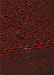 Fort Dodge High School - Dodger Yearbook (Fort Dodge, IA) online yearbook collection, 1940 Edition, Page 1