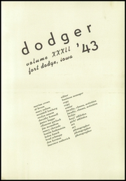 Page 5, 1943 Edition, Fort Dodge High School - Dodger Yearbook (Fort Dodge, IA) online yearbook collection