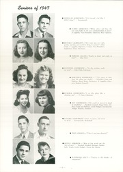 Page 12, 1947 Edition, Fort Dodge High School - Dodger Yearbook (Fort Dodge, IA) online yearbook collection