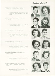 Page 15, 1947 Edition, Fort Dodge High School - Dodger Yearbook (Fort Dodge, IA) online yearbook collection