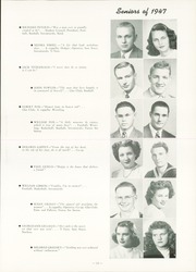 Page 17, 1947 Edition, Fort Dodge High School - Dodger Yearbook (Fort Dodge, IA) online yearbook collection
