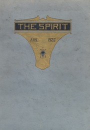 Ames High School - Spirit Yearbook (Ames, IA) online yearbook collection, 1926 Edition, Page 1