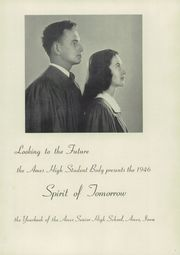 Page 7, 1946 Edition, Ames High School - Spirit Yearbook (Ames, IA) online yearbook collection
