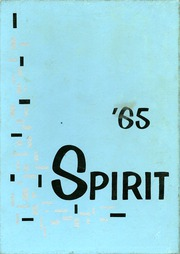 1965 Edition, Ames High School - Spirit Yearbook (Ames, IA)