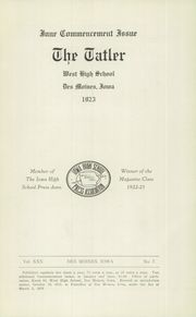 Page 3, 1923 Edition, Valley High School - Tiger Tales Yearbook (West Des Moines, IA) online yearbook collection