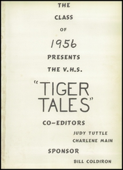 Page 5, 1956 Edition, Valley High School - Tiger Tales Yearbook (West Des Moines, IA) online yearbook collection