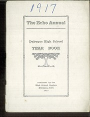 Page 1, 1917 Edition, Dubuque High School - Echo Yearbook (Dubuque, IA) online yearbook collection