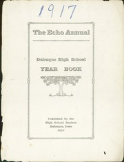 Page 3, 1917 Edition, Dubuque High School - Echo Yearbook (Dubuque, IA) online yearbook collection