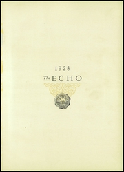 Page 5, 1928 Edition, Dubuque High School - Echo Yearbook (Dubuque, IA) online yearbook collection