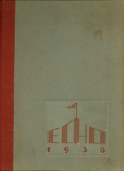 Page 1, 1936 Edition, Dubuque High School - Echo Yearbook (Dubuque, IA) online yearbook collection