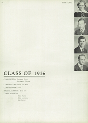 Page 14, 1936 Edition, Dubuque High School - Echo Yearbook (Dubuque, IA) online yearbook collection