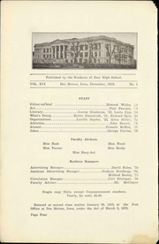Page 8, 1915 Edition, East High School - Quill Yearbook (Des Moines, IA) online yearbook collection