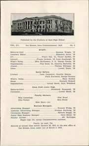 Page 11, 1919 Edition, East High School - Quill Yearbook (Des Moines, IA) online yearbook collection