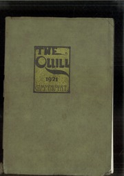 Page 1, 1921 Edition, East High School - Quill Yearbook (Des Moines, IA) online yearbook collection
