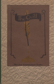 Page 1, 1923 Edition, East High School - Quill Yearbook (Des Moines, IA) online yearbook collection