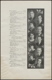 Page 11, 1923 Edition, East High School - Quill Yearbook (Des Moines, IA) online yearbook collection
