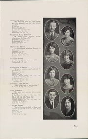 Page 9, 1926 Edition, East High School - Quill Yearbook (Des Moines, IA) online yearbook collection