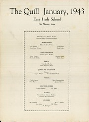 Page 4, 1943 Edition, East High School - Quill Yearbook (Des Moines, IA) online yearbook collection