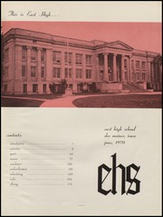 Page 5, 1970 Edition, East High School - Quill Yearbook (Des Moines, IA) online yearbook collection