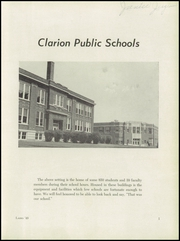 Page 7, 1949 Edition, Clarion High School - Lasso Yearbook (Clarion, IA) online yearbook collection