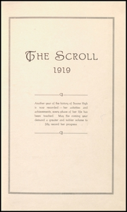 Page 7, 1919 Edition, Boone High School - Scroll Yearbook (Boone, IA) online yearbook collection