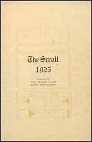 Page 9, 1925 Edition, Boone High School - Scroll Yearbook (Boone, IA) online yearbook collection