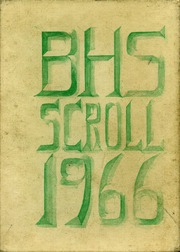 1966 Edition, Boone High School - Scroll Yearbook (Boone, IA)
